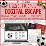 Fractions Escape Room, Digital, Fractions, Math