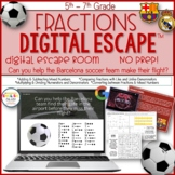 Fractions Escape Room, Fractions, Math, Digital Escape Ⓡ