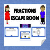 Fractions Escape Room (Adding, Subtracting, Multiplying, e