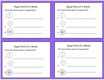 Fractions Exit Tickets