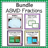 Add, Subtract, Multiply, and Divide Fractions  Bundle