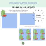 Fractions/Fair Sharing Google Slides Activity- Whole Class or Assign