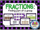 Fractions: Finding Part of a Group (Grade 3 GoMath! 8.8)