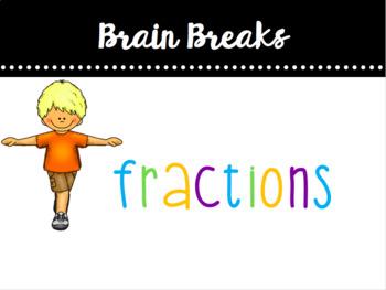 Fractions & Fitness Brain Break
