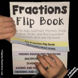 Fractions Flip Book - A Fraction Resource for Teachers, St