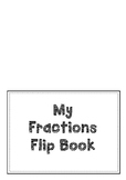 Fractions Flipbook