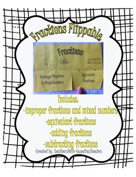 Fractions Flippables