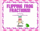 Fractions - Flipping Frog Fraction Review Game