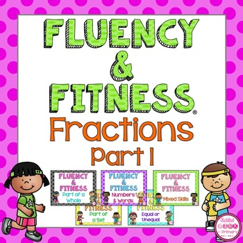 Fractions (Part 1) Fluency & Fitness Brain Breaks Bundle
