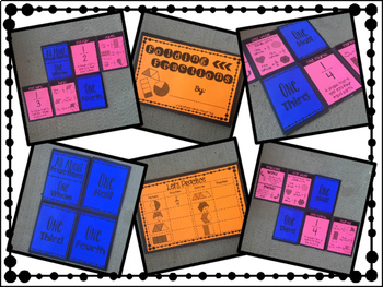 Fractions Foldable Equivalent Fractions and Simple Fractions