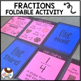 2nd Grade Fractions Activity | Foldable