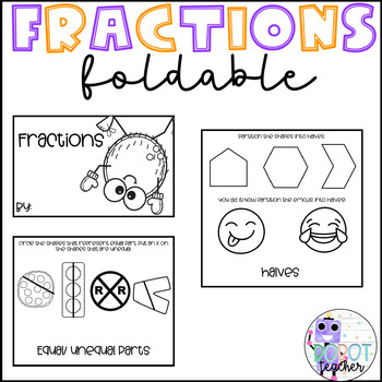 Fractions Foldable