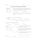 Fractions Formative Assessment