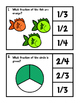 Fractions - Fraction Clip It Cards