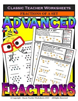Fractions - Fractions of a Set - Grades 2-3 (2nd-3rd Grade)