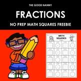 Fractions Freebie