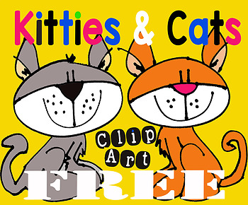 Clipart Freebie Cats