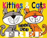 Clipart Freebie Cats