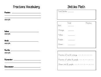 Fractions Fun Book