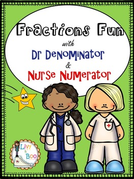Fractions Fun - Denominator & Numerator Worksheets