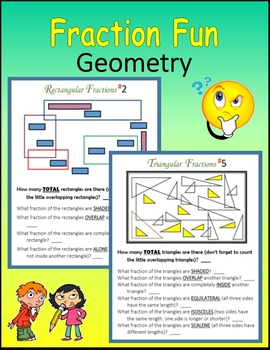 Fractions Fun (Geometry)