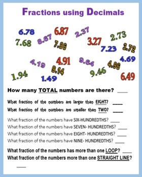 Fractions Fun (Numbers)