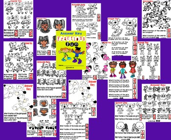 Fractions Fun Ultimate Workbook for Grades 1, 2 and 3