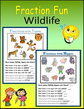 Fractions Fun (Wildlife)