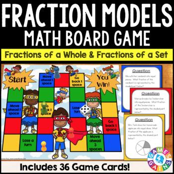 Understanding Fractions: Fraction Models Game {3.NF.1}