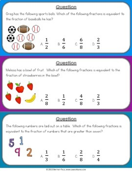 3rd Grade Fractions Bundle {Equivalent Fractions, Fractions on a Number Line...}