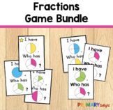 Fractions Game Bundle: I Have... Who Has...