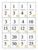Fractions Game-Equivalent Fractions