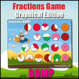 Fractions Game - Graphical Edition - Halves, Thirds, Quarters, Fifths & Sixths