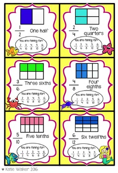 Fractions Equivalence Game