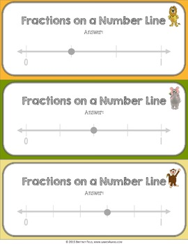 Fractions on a Number Line Activity: Fractions on a Number Line Game