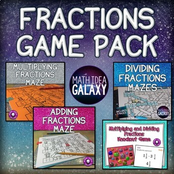 Fractions Game Pack