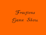 Fractions Game Show