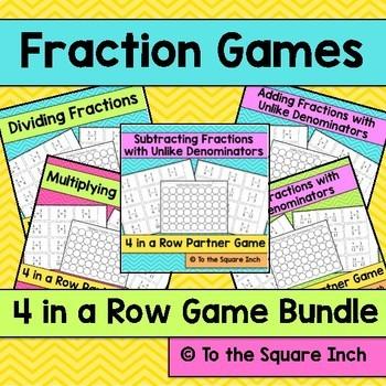 Fractions Games Bundle