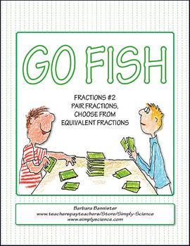 Fractions Go Fish 2