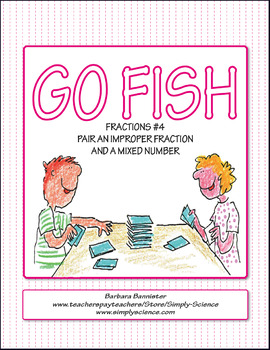 Fractions Go Fish 4