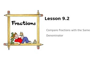 Fractions - Go Math Lesson 9.2