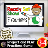 Fractions Google Slides | Fractions 3rd Grade | End of the Year Review