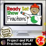 Fractions Google Slides | Fractions 3rd Grade | Digital Ma