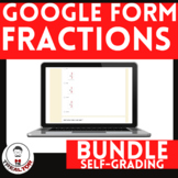 Fractions Google Forms Distance Learning 120 Digital Self