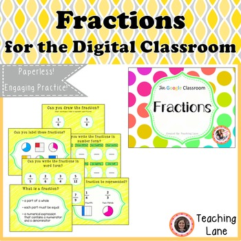Fractions for the Digital Classroom