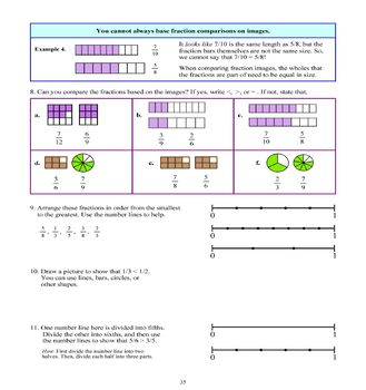 Fractions, Grade 4