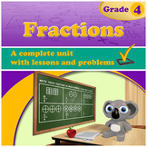 Fractions, Grade 4 (Distance Learning)