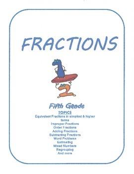 Fractions - Grade 5