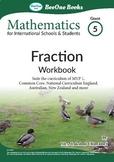 Grade 5 Fraction, Decimal & Percentage Workbook of 66 page