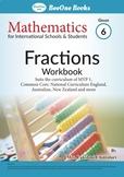 Fractions Grade 6 Maths Workbook from www.Grade1to6.com